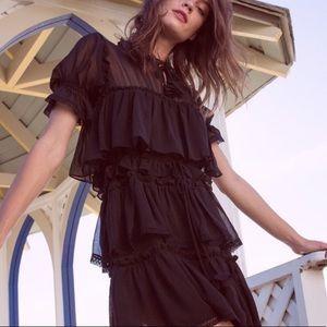 Misa Los Angeles Jasmine Dress in Black Medium
